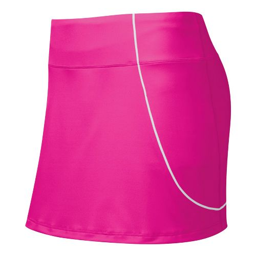Womens ASICS Staright Sets Skort Fitness Skirts - PinkGlo M