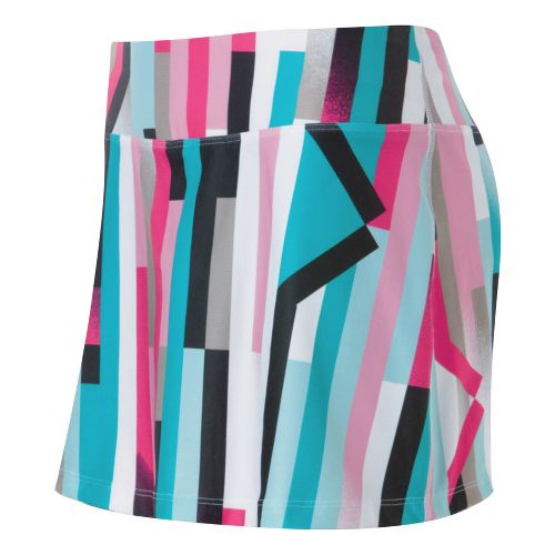 Womens ASICS Staright Sets Skort Fitness Skirts - Straight Sets Print XS