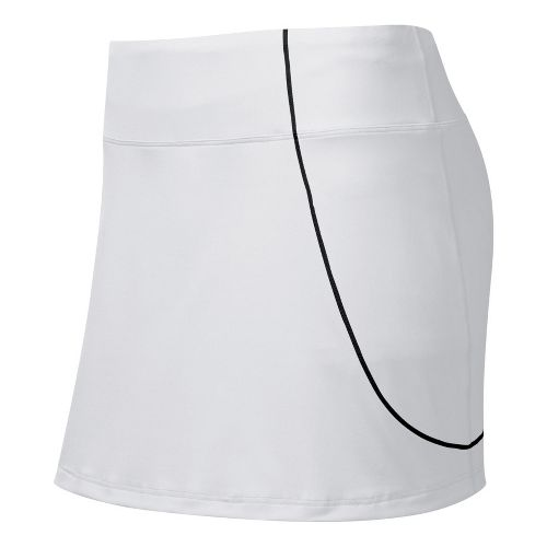 Womens ASICS Staright Sets Skort Fitness Skirts - White XS