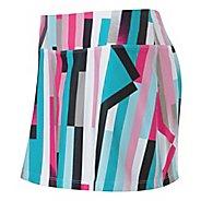 Womens ASICS Staright Sets Skort Fitness Skirts