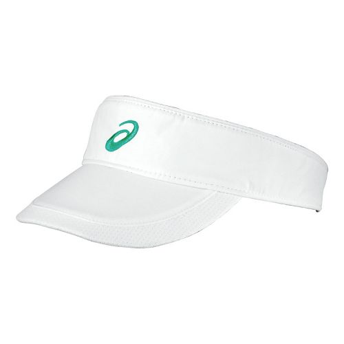 ASICS Straight Sets Visor Headwear - White