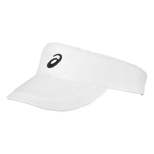 ASICS Straight Sets Visor Headwear - White/Black