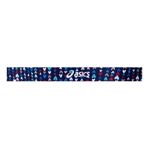 ASICS Printed Headbands Headwear - Tiny Hearts