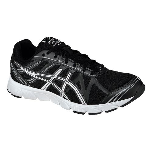 Mens ASICS GEL-Windom Running Shoe - Black/White 12.5
