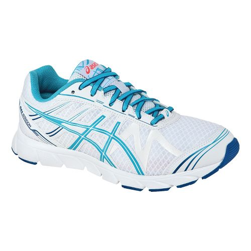 Womens ASICS GEL-Windom Running Shoe - White/Turquoise 7