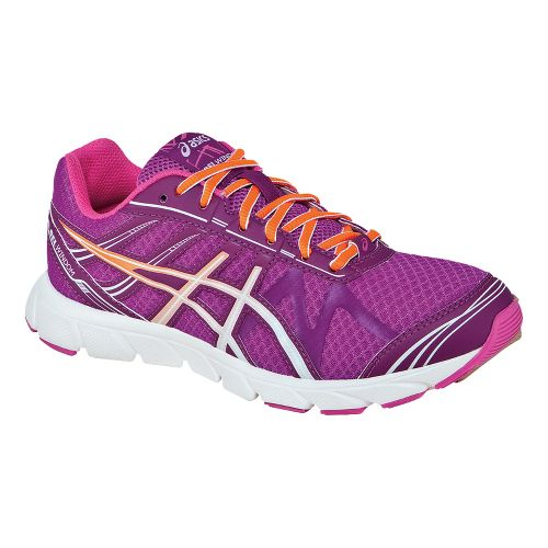 Womens ASICS GEL-Windom Running Shoe - Wine/Flash Orange 5