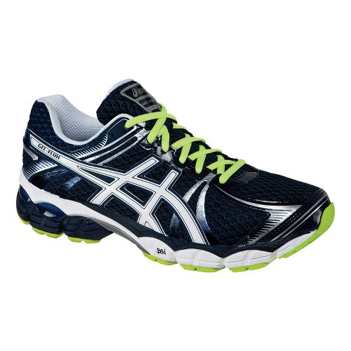 Mens ASICS GEL-Flux Running Shoe - Navy/White 11.5