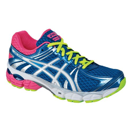 Womens ASICS GEL-Flux Running Shoe - Blue/White 8.5