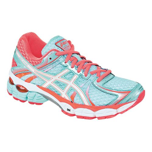 Womens ASICS GEL-Flux Running Shoe - Glacier/White 8.5
