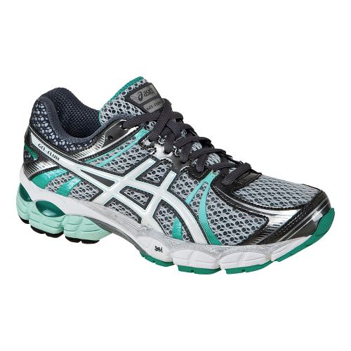 Womens ASICS GEL-Flux Running Shoe - Lightning/White 12