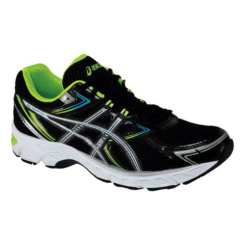 Mens ASICS GEL-Equation 7 Running Shoe - Black/Titanium 8