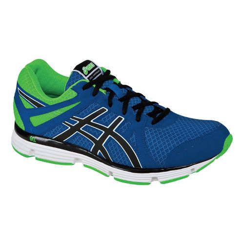 Mens ASICS GEL-Invasion Running Shoe - Apple/Black 7.5