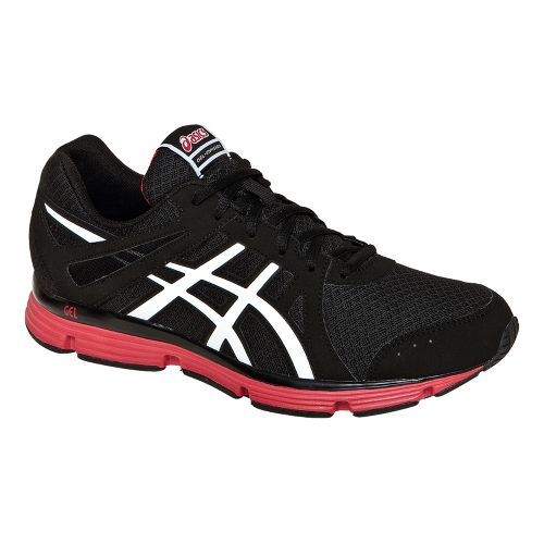 Mens ASICS GEL-Invasion Running Shoe - Black/White 10.5