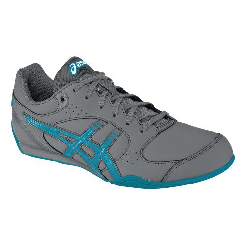 Womens ASICS GEL-Rhythmic 2 SB Cross Training Shoe - Carbon/Maui Blue 11.5