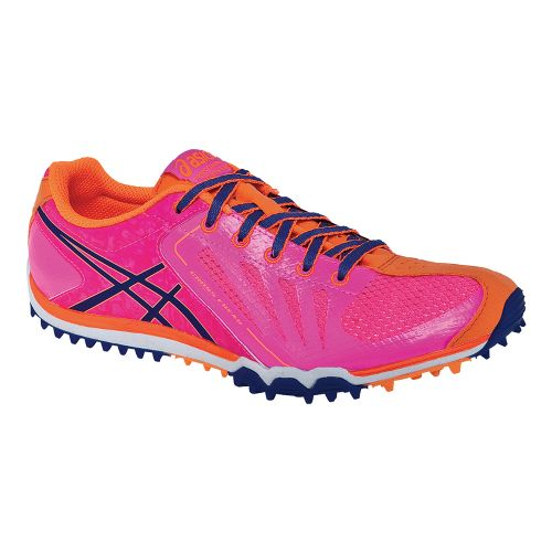 Womens ASICS Cross Freak Cross Country Shoe - Magenta/Electric Blue 5