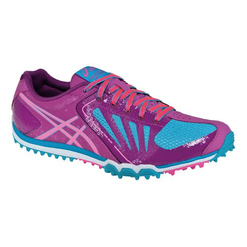 Womens ASICS Cross Freak Cross Country Shoe - Ultra Marine/Fuschia 7.5