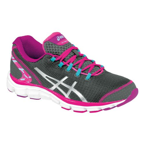 Womens ASICS GEL-Frequency 2 Walking Shoe - Grey/Pink 7.5
