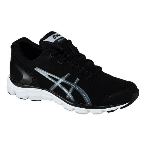 Womens ASICS GEL-Frequency 2 SB Walking Shoe - Black/Silver 9.5