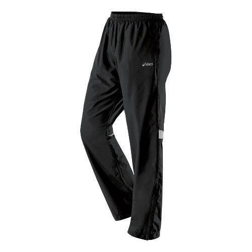 Womens ASICS Storm Shelter Cold weather Pants - Black XL