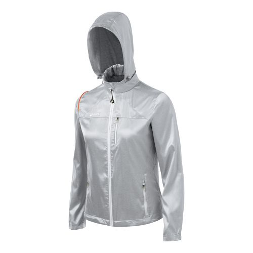 Womens ASICS Electro Running Jackets - Frost XS