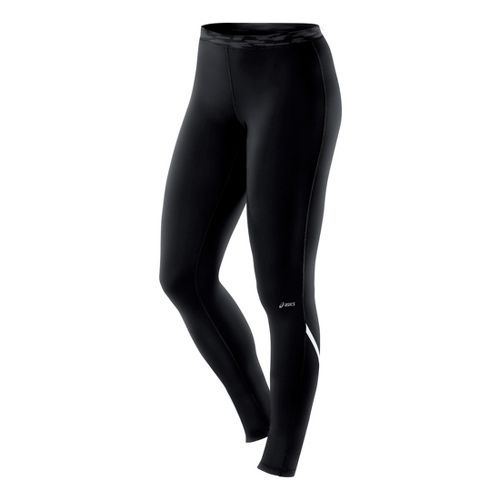 Womens ASICS Thermopolis LT Fitted Tights - Black XS