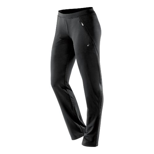 Womens ASICS PR Full Length Pants - Black MT