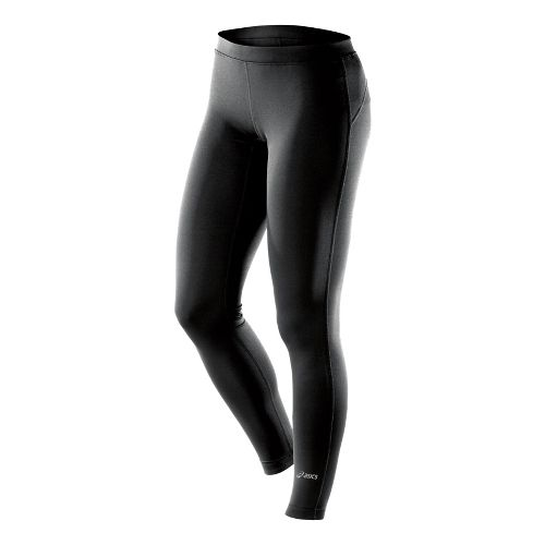 Womens ASICS PR Fitted Tights - Black LT