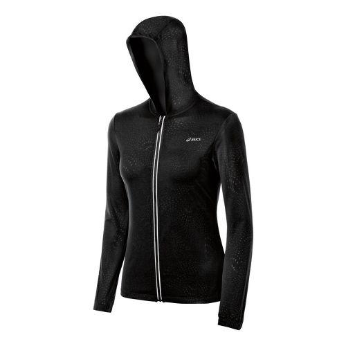 Womens ASICS Performance Fun Running Jackets - Black S