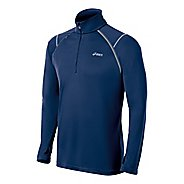 Mens ASICS Lite-Show Favorite Long Sleeve 1/2 Zip Technical Tops