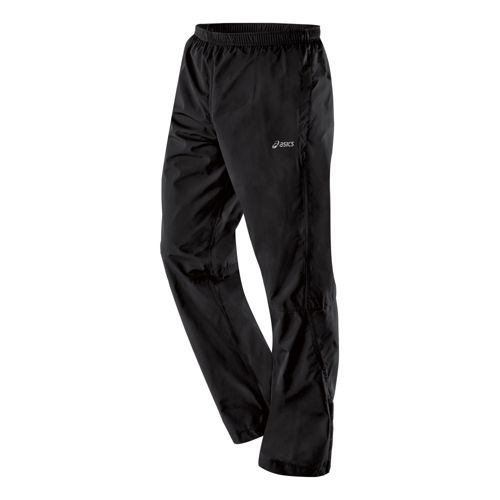 Mens ASICS Storm Shelter Full Length Pants - Black M
