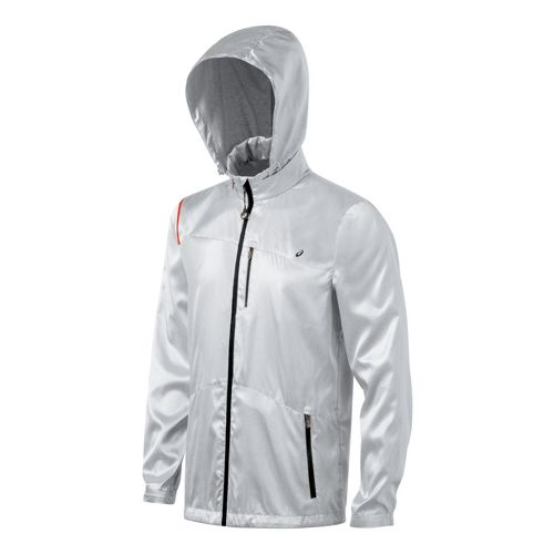 Mens ASICS Electro Running Jackets - Frost XXL