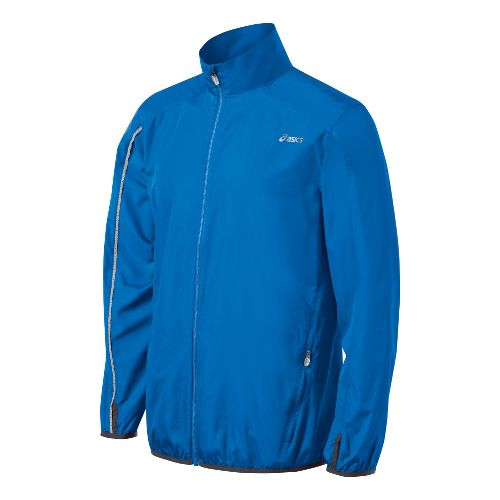 Mens ASICS Spry Running Jackets - Electric S