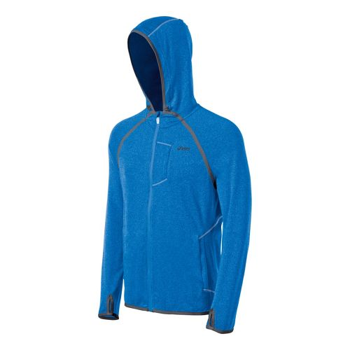 Mens ASICS Thermopolis LT Hoody Running Jackets - Electric XXL