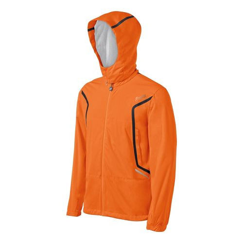 Mens ASICS ARD Running Jackets - Orange Burst S