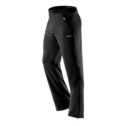 Mens ASICS PR Full Length Pants - Black MT