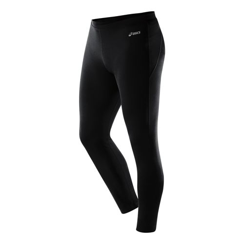 Mens ASICS PR Fitted Tights - Black MT