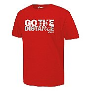 ASICS Go the Distance T Short Sleeve Non-Technical Tops