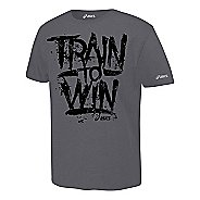 ASICS Train to Win T Short Sleeve Non-Technical Tops