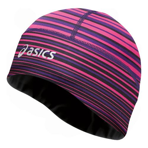 ASICS Thermopolis LT 2-N-1 Beanie Headwear - Berry/Black