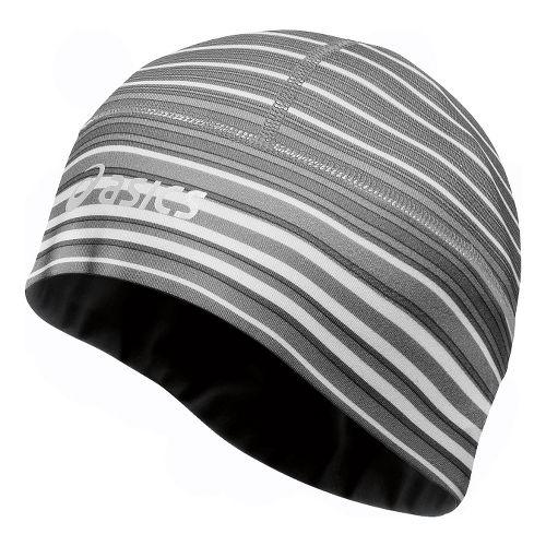 ASICS Thermopolis LT 2-N-1 Beanie Headwear - Black White/Black