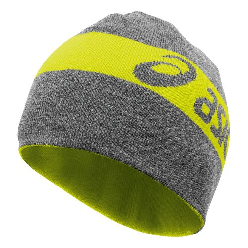 ASICS PR Thermal 2-N-1 Beanie Headwear - Electric Lime