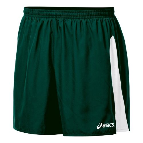Mens ASICS Wicked Unlined Shorts - Forest/White XXL