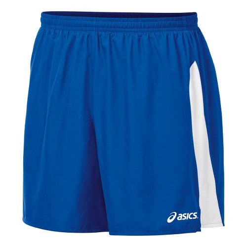 Mens ASICS Wicked Unlined Shorts - Royal/White L