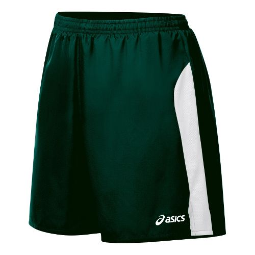 Womens ASICS Wicked Lined Shorts - Forest/White S