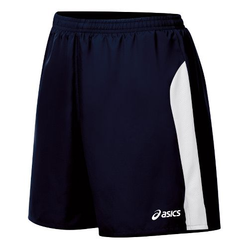 Womens ASICS Wicked Lined Shorts - Navy/White S