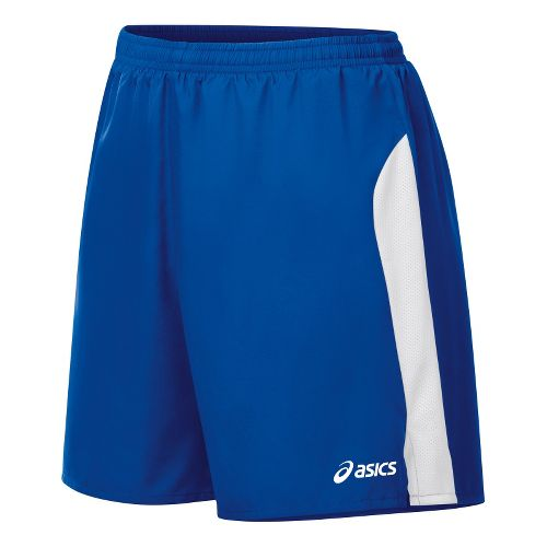 Womens ASICS Wicked Lined Shorts - Royal/White M