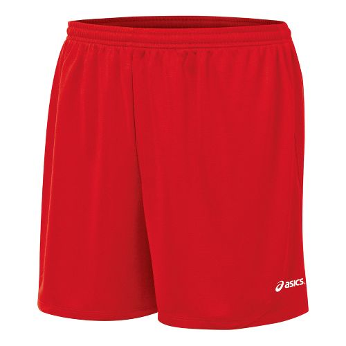 Mens ASICS Rival Lined Shorts - Red XS