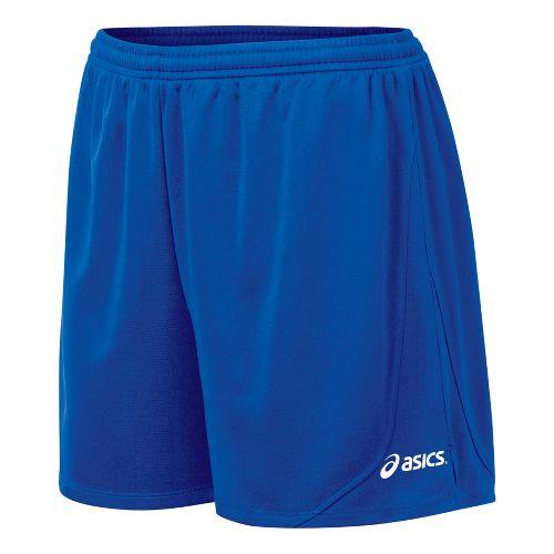 Womens ASICS Rival Lined Shorts - Royal M