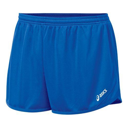 Mens ASICS Rival 1/2 Splits Shorts - Royal S