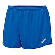 Mens ASICS Rival 1/2 Splits Shorts